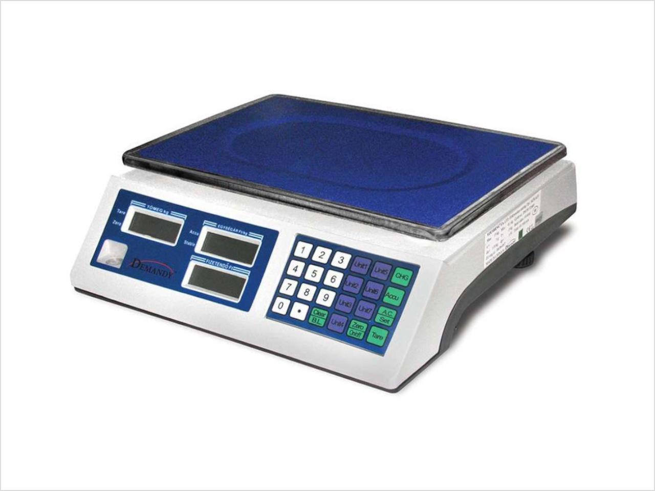 ACS-E lapos 30-kg-os mérleg